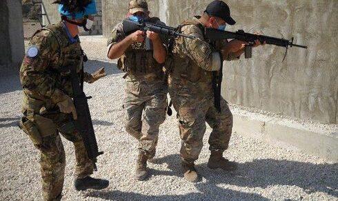 Missione Unifil in Libano: I caschi blu italiani addestrano l'esercito libanese