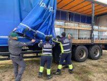Roma: Donati dalla Guardia di Finanza oltre 100.000 litri di gasolio alla Protezione Civile