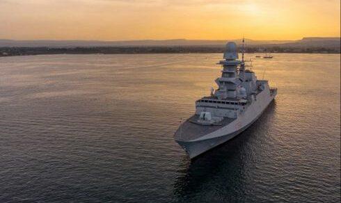 Operazione Atalanta: La Fregata Alpino ha assunto il ruolo di flag ship di EUNAVFOR