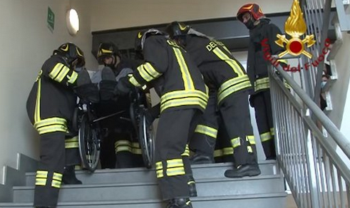 Disabilità: Il corpo dei Vigili del Fuoco ha firmato la Carta dei Diritti delle persone con Sclerosi Multipla
