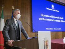 Palazzo Guidoni: Cerimonia dedicata alla Giornata del Personale Civile dell'Amministrazione della Difesa