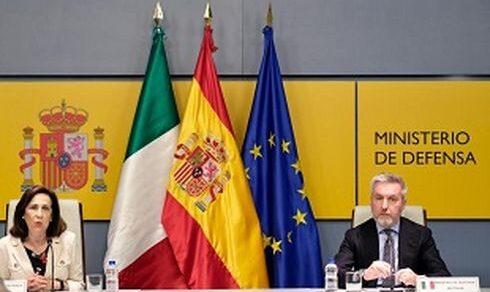 Vertice intergovernativo Italia-Spagna: Incontro tra il ministro della Difesa Lorenzo Guerini con l'omologa spagnola Margarita Robles Fernandez