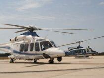 Missione di addestramento: Pratica di Mare, in volo con gli elicotteri AW139 del 1° Reparto Volo della Polizia di Stato