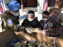 """Libano: Donazioni a favore di scuole e associazioni da parte dei """"Caschi Blu"""" italiani"""