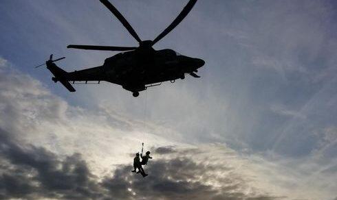 Aeronautica Militare: Esercitazione, Soccorso Aereo a Decimomannu