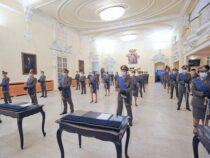 Torino: Nell'Aula Magna di Palazzo Arsenale cerimonia di Giuramento di 36 ufficiali