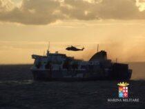Marina Militare: Sei anni fa il soccorso al traghetto Norman Atlantic