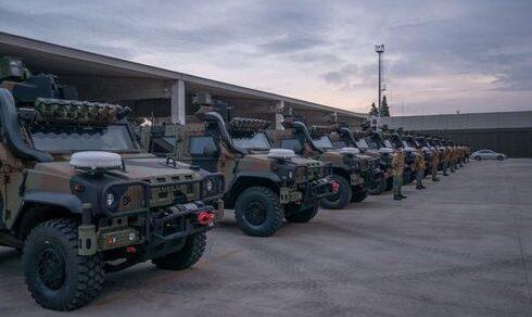 Esercito Italiano: Arrivati i primi VTLM lince NEC ai reparti della Brigata Pinerolo