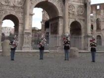 L'augurio di Buon 2021 dalla Banda dell'Esercito Italiano (Video)