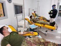 Esercito: Donazione di sangue all'ospedale da campo di Cosenza