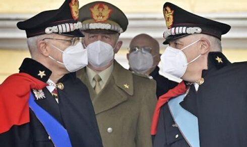 Arma dei Carabinieri: Cerimonia di avvicendamento nella carica di comandante generale