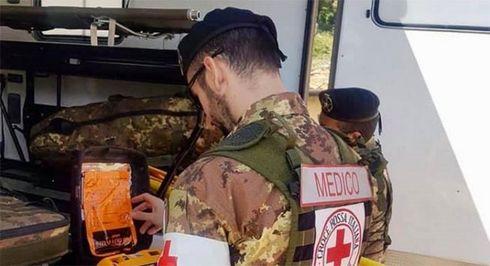 Emergenza Coronavirus: Due infermieri militari volontari della Croce Rossa premiati per il loro impegno contro il Covid