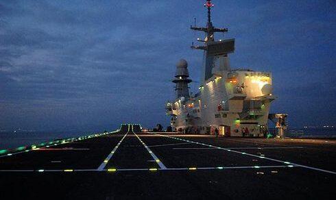 """Marina Militare: La portaerei STOVL italiana """"Cavour"""" ripartita dagli USA per tornare in Italia"""