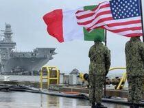 """Marina Militare: Arrivata negli Stati Uniti alla Naval Station di Norfolk la portaerei """"Cavour"""""""