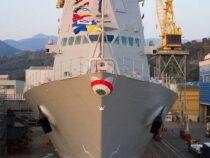 Marina Militare: Varato il terzo Pattugliatore Polivalente d'Altura Montecuccoli