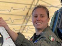 Marina Militare: Erika Raballo, la prima donna pilota di velivoli da combattimento