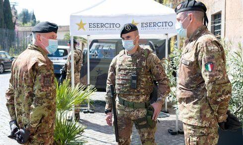 """Strade Sicure: Il Generale di Corpo d'Armata Pietro Serino in visita al Raggruppamento """"Lazio-Abruzzo"""""""