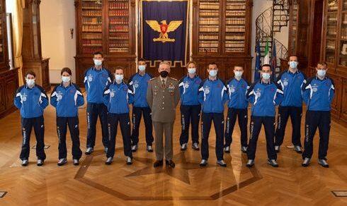 Sci alpinismo: Roma, premiati dal Generale Pietro Serino undici atleti del CS Esercito