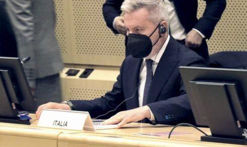 Bruxelles: Il Ministro Lorenzo Guerini per il Consiglio Affari Esteri in formato Difesa