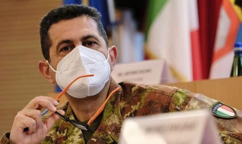 Verona: Il generale di Corpo d'Armata, Francesco Paolo Figliuolo, in visita al COMFOTER di Supporto