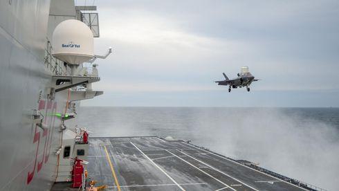 Nave Cavour e la campagna Ready for Operations (Rfo) con l'utilizzo degli F-35 nella versione B, a decollo corto e appontaggio verticale