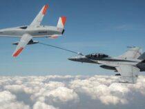 Droni militari: Drone rifornisce in volo un jet militare. E' la prima volta al mondo