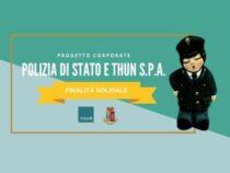 Solidarietà: Progetto corporate Polizia di Stato THUN S.p.A.