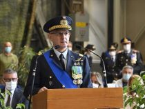 Aeroporto di Pratica di Mare: Cerimonia di passaggio consegne al vertice del Comando Logistico dell'Aeronautica Militare