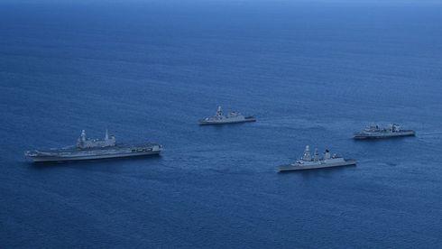 Marina Militare: Addestramento in mare per la Seconda Divisione Navale
