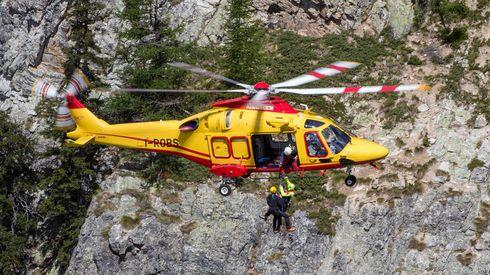 Esercitazione di elisoccorso: Come funziona un'operazione HEMS di soccorso alpino con elicottero AW139