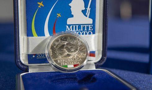 Centenario del Milite Ignoto: Presentata la moneta commemorativa realizzata dal Poligrafico e Zecca Dello Stato